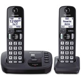 Panasonic KX-TGD222N DECT 6.0 1.90 GHz Cordless Phone - Champagne Gold