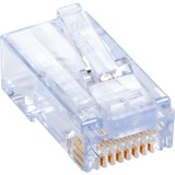 Black Box CAT6 EZ-RJ45 Modular Plugs, 100-Pack