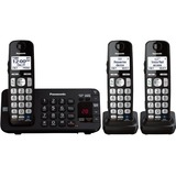 Panasonic KX-TGE243B DECT 6.0 1.90 GHz Cordless Phone