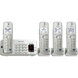 Panasonic Link2Cell KX-TGE274S DECT 6.0 1.90 GHz Cordless Phone - Silver