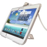 """Galaxy Tab 3 (10.1"""") Lockable Case Bundle With T-BAR Cable Lock and Galaxy Tab 3 (10.1 Inch) Security Case / Cover Black"""