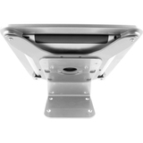 iPad 2/3/4/Air/Air2 Secure Executive Enclosure with 45?? Kiosk Silver