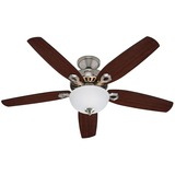 BUILDER DELUXE FAN NICKEL 52IN