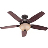 BUILDER DELUXE FAN BRONZE 52IN