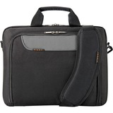 """Everki Advance Carrying Case (Briefcase) for 14.1"""" Notebook - Black"""