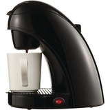 Brentwood TS-112B Single Cup Coffee Maker - Black