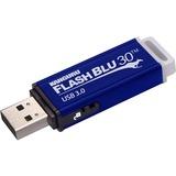 Kanguru FlashBlu30 with Physical Write Protect Switch SuperSpeed USB3.0 Flash Drive