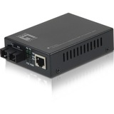 LevelOne FVT-2201 10/100BASE-TX to 100BASE-FX SMF SC Mini Media Converter, 20km
