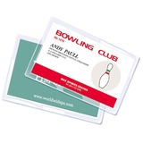 "Royal Sovereign Credit Card Size (2"" x 3"") 5mil Thermal Laminating Pouches - 100 pk"