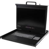 "StarTech.com 1U 17"" HD 1080p Rackmount LCD Console with Front USB Hub"