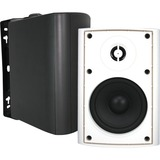 OSD Audio AP450WHT Outdoor Patio Speaker, Pair