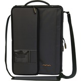 "Higher Ground Shuttle 2.1 Carrying Case (Sleeve) for 14"" Notebook, Document, Accessories, Power Supply, Cable, Netbook, ID Card - Black"