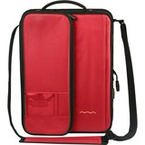 "Higher Ground Shuttle 2.1 Carrying Case (Sleeve) for 14"" Notebook, Document, Accessories, Power Supply, Cable, Netbook, ID Card - Red"