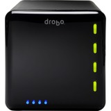 Drobo DAS Array - 4 x HDD Supported - 4 x HDD Installed - 4 TB Installed HDD Capacity - 4 x SSD Supported
