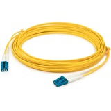 AddOn 9m LC (Male) to LC (Male) Yellow OS2 Duplex Fiber OFNR (Riser-Rated) Patch Cable