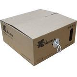 Premiertek X-MEDIA 1000 Ft Cat-5e UTP Solid 4-pairs Network Cable