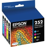 Epson DURABrite Ultra Ink T252 Original Ink Cartridge - Cyan, Black, Magenta, Yellow