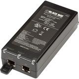 Black Box 802.3af PoE Gigabit Injector, 1-Port