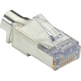 Black Box Shielded CAT6 EZ-RJ45 Modular Plugs, 100-Pack