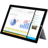 """Microsoft Surface Pro 3 Tablet - 12"""" - 8 GB LPDDR3 - Intel Core i7 i7-4650U Dual-core (2 Core) 1.70 GHz - 512 GB SSD - Windows 8.1 Pro - 2160 x 1440 - ClearType - Silver"""