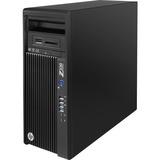 HP Z230 Mini-tower Workstation - 1 x Processors Supported - 1 x Intel Core i7 i7-4790 Quad-core (4 Core) 3.60 GHz - Jack Black