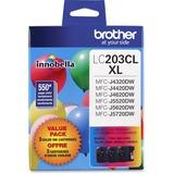 Brother Innobella LC2033PKS Original Ink Cartridge - Cyan, Magenta, Yellow