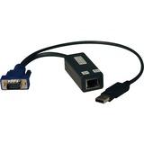 Tripp Lite NetCommander HD15 to USB Port Server Interface Unit-B078-101-USB-8