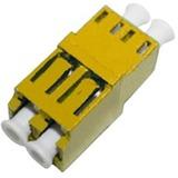 AddOn LC Female to LC Female MMF Duplex Fiber Optic Adapter