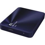 WD WDBEZW0020BBA-NESN My Passport® Ultra Metal Edition 2 TB Blue-Black - premium storage with style