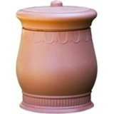 Good Ideas Savannah Urn Storage and Waste Bin