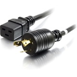 C2G 3ft 12AWG 250 Volt Power Cord (NEMA L6-20P to IEC320 C19)