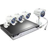 Zmodo 8CH H.264 960H Home Security System with 4 700TVL IR Cameras