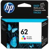 HP 62 | Ink Cartridge | Tri-color | Works with HP ENVY 5500 Series, 5600 Series, 7600 Series, HP OfficeJet 200, 250, 258, 5700 Series, 8040 | C2P06AN
