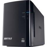 BUFFALO DriveStation Duo USB 3.0 2-Drive 4 TB Desktop DAS (HD-WH4TU3R1)