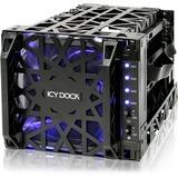 Icy Dock Black Vortex MB074SP-1B Drive Enclosure Internal - Black