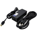 Lenovo 0B47455 Compatible 65W 20V at 3.25A Black Slim Tip Laptop Power Adapter and Cable