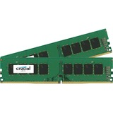 Crucial 16GB kit (4GBx4) DDR4 PC4-17000 Unbuffered NON-ECC 1.2V