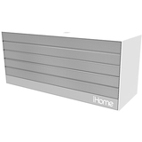 iHome iBN27 Speaker System - 6 W RMS - Battery Rechargeable - Wireless Speaker(s) - Silver