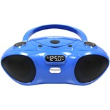 Hamilton Buhl CD/ BlueTooth Boom Box Supports Bluetooth V2.0 Wireless Range: 33 Feet Cd Player Programmable Tracks