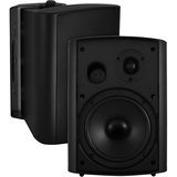 OSD Audio AP525 Black 5.25-inch Indoor or Outdoor 120-Watt Patio Speaker Pair