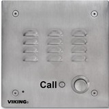 Viking Electronics VoIP Entry Phone Stainless Steel with EWP