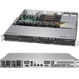 Supermicro SuperServer 5018R-MR Barebone System - 1U Rack-mountable - Intel C612 Express Chipset - Socket LGA 2011-v3 - 1 x Processor Support - Black