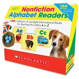 Scholastic Nonfiction Alphabet Readers Education Printed Book by Liza Charlesworth - English