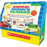 Scholastic Animal Phonics Readers Education Printed Book by Liza Charlesworth - English