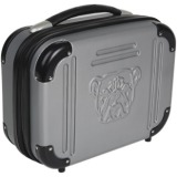 "Bulldog 9"" X 12"" X 5 Grey Molded Double Pistol Case with TSA Lock"