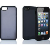 Hama iPhone 5/5S ClearColor Case Black and Gray