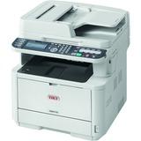 Oki MB472w LED Multifunction Printer - Monochrome - Plain Paper Print - Desktop