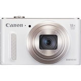 Canon PowerShot SX610 HS 20.2 Megapixel Compact Camera - White