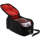 Badgy Carrying Case for Portable Printer - Black, Red