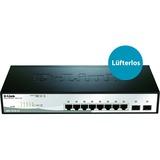 D-Link 10-Port Gigabit Web Smart Switch Including 2 Gigabit SFP Ports